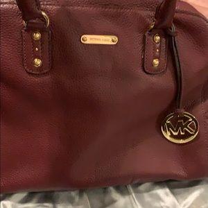 Michael Kors Burgundy bag